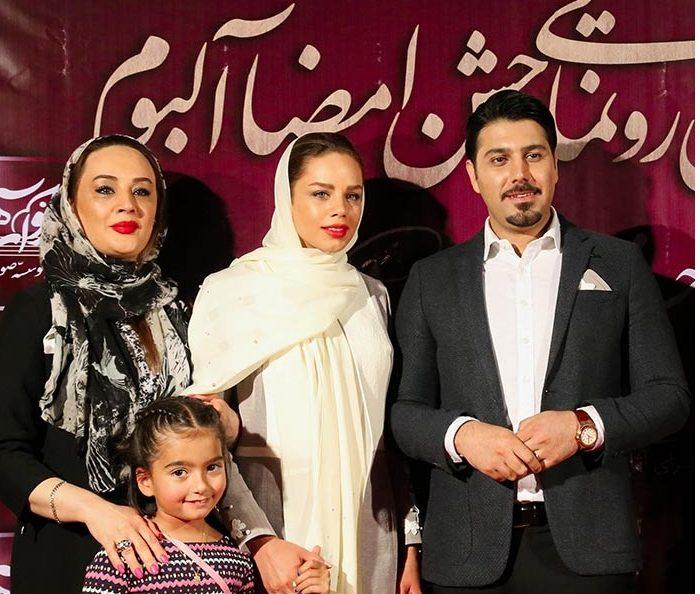 عکس های احسان خواجه امیری و همسرش