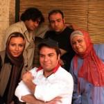 پرستو صالحی در کنار مهران غفوریان+عکس