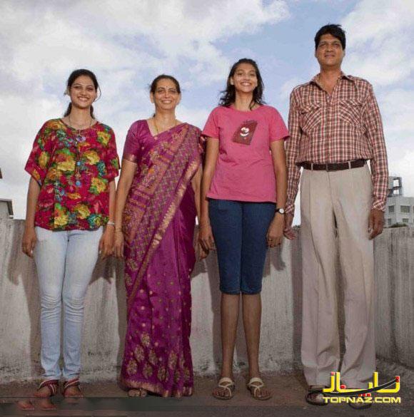 خانواده قد بلند
