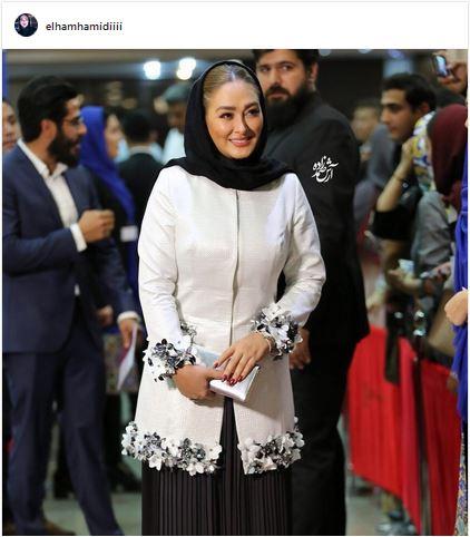 عکسهای شخصی خانم الهام حمیدی و ماجرای طلاق و ازدواج این بازیگر زن