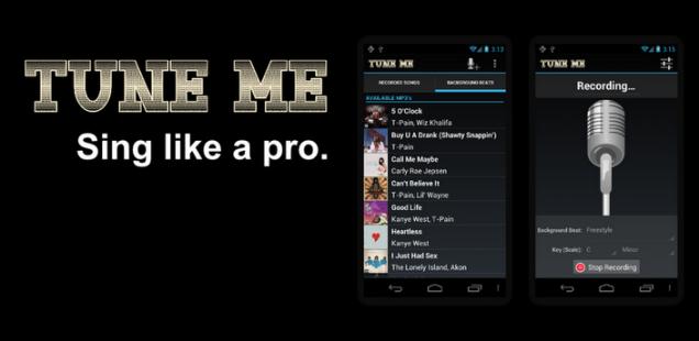 استودیوی ضبط صدا با Tune Me v1.4