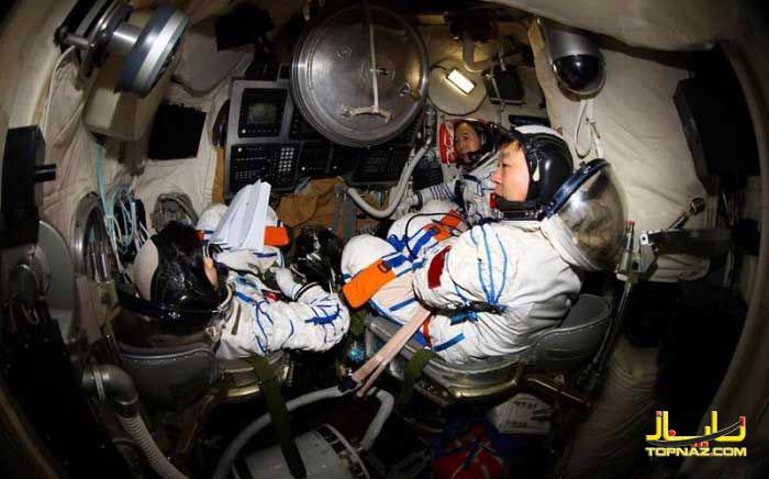 فضانورد چینی