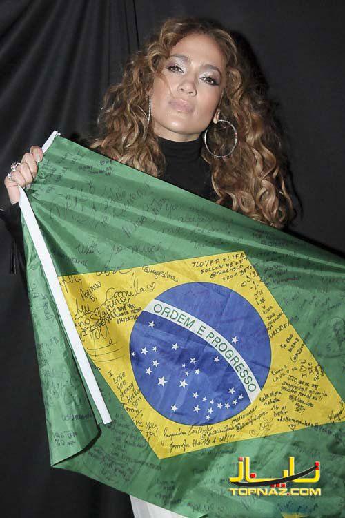 جنیفر لوپز در برزیل