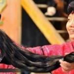 روستایی که زنانش بلندترین موها را دارند+عکس