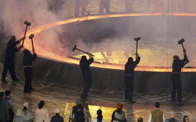 مراسم جشن المپیک