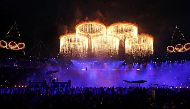 جشن افتتاحیه المپیک
