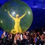 تصاویری زیبا از مراسم افتتاحیه المپیک لندن