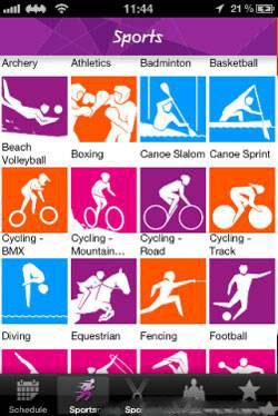 برنامه المپیک