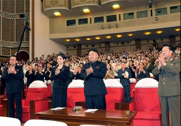 رئیس جمهور کره شمالی و همسرش