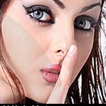 عکس هایی از مهلقا جابری قبل از زیبا شدن!