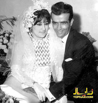 عکس لیلا فروهر با شوهرش