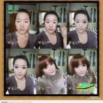 دختر زشت چینی قبل و بعد از آرایش+عکس