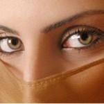 با آرایش چشم های ریزتان را درشت کنید!