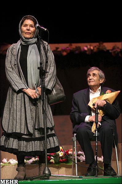 حمید سمندریان و همسرش