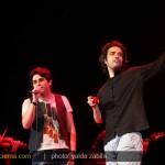 اجرای آهنگ الهه ناز با صدای حمید عسکری و بنیامین+کلیپ