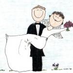 اقدام عجیب و جالب عروس و داماد در روز عروسی