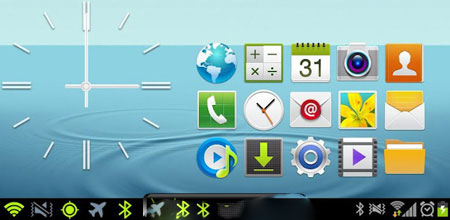 تم شبیه ساز TouchWiz 5.0 با CM9 & AOKP Theme: TouchWiz 5.0 v3.0.5