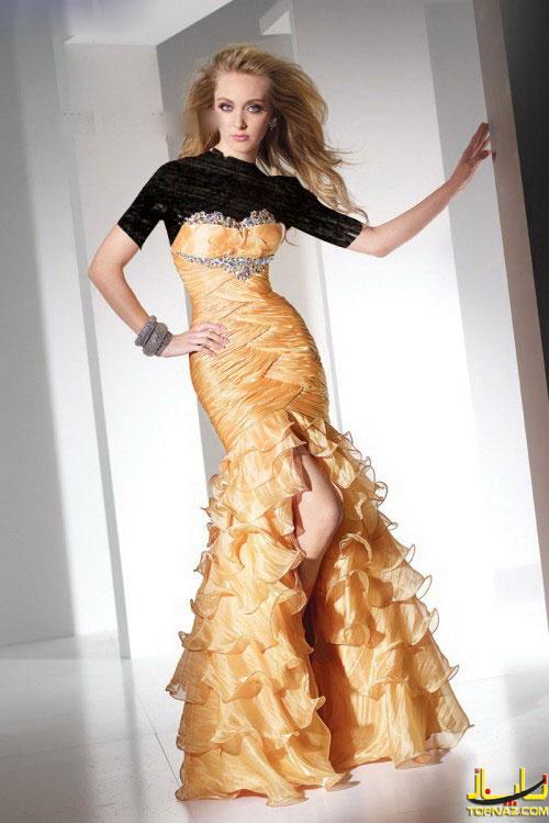 زیباترین طرحهای لباس مجلسی دخترانه