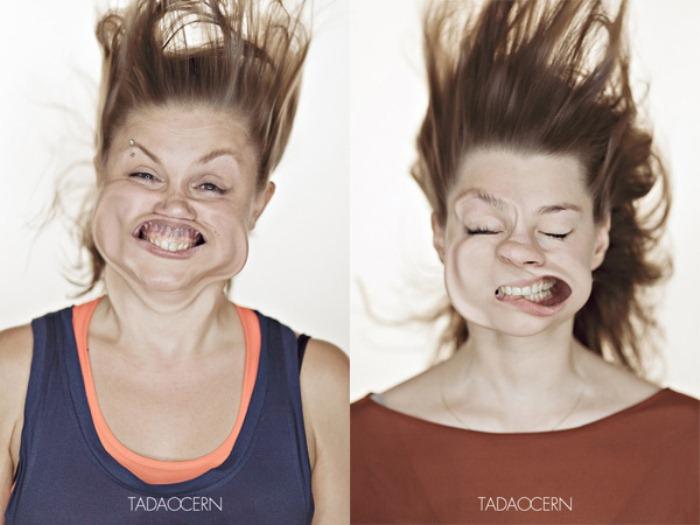چهره های خنده دار