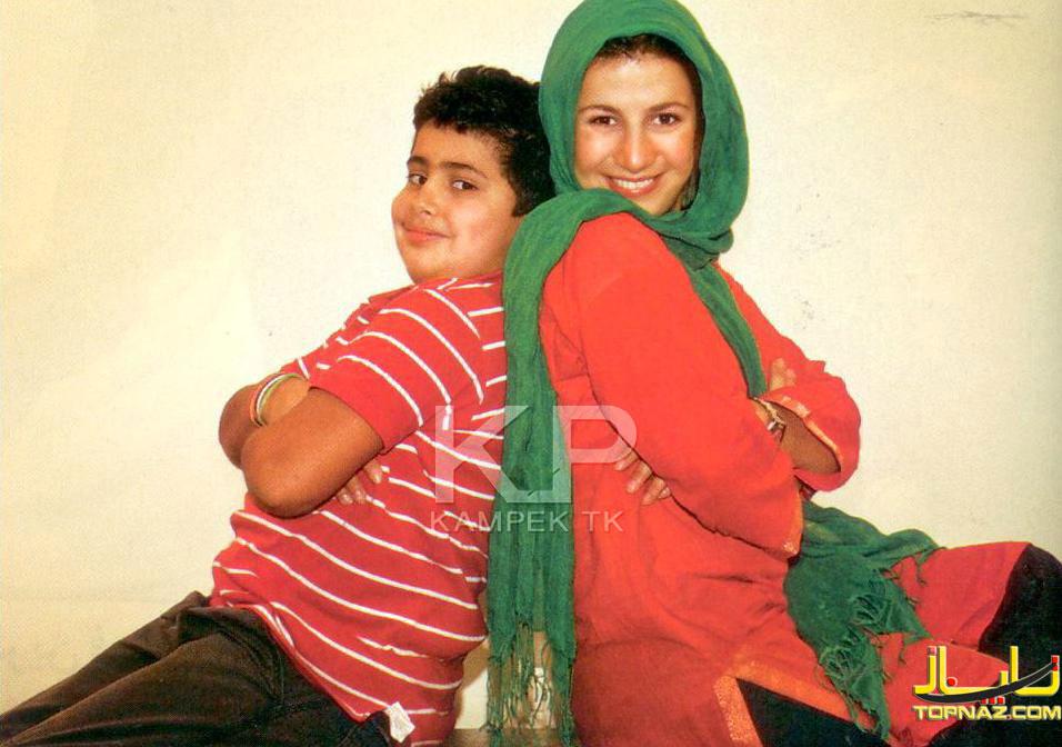 لیلی رشیدی و پسرش