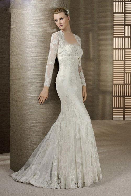 شیکترین مدلهای لباس عروس 2012