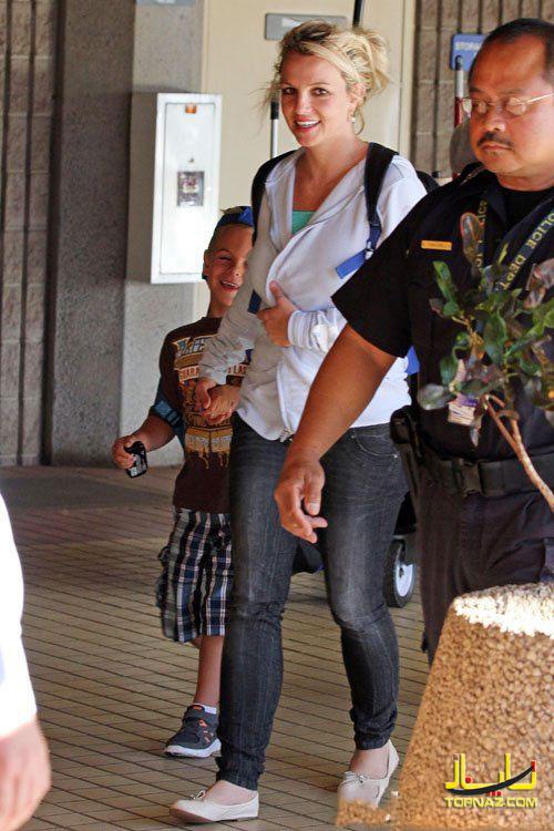 بریتنی اسپرز و پسرهایش