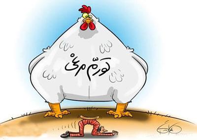 تورم مرغی