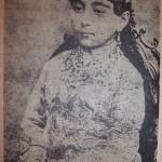 دختر ناصرالدین شاه در روز نامزدی اش+عکس