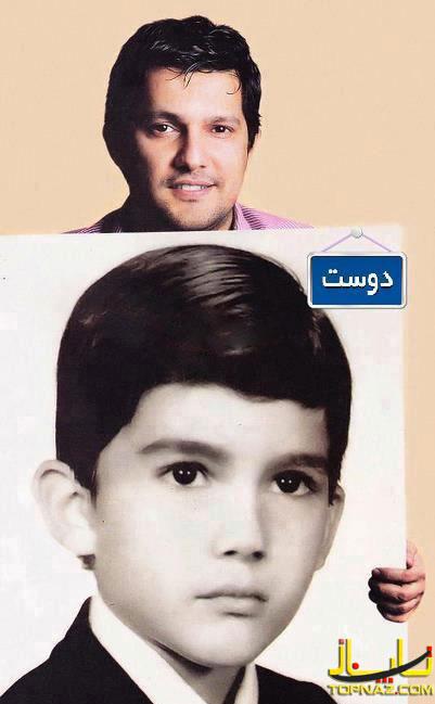 حامد بهداد در کودکی