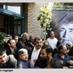 تصاویری از مراسم تشییع پیکر حمید سمندیان