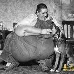چاق ترین انسان های تاریخ را بشناسید!+عکس