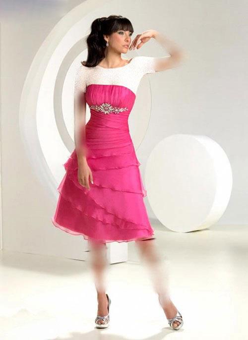مدل لباس کوتاه و شیک دخترانه 2012