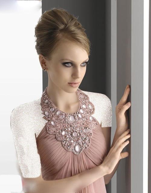 لباس مجلسی بلند و ساده