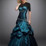 مدل جدید لباس شب بلند