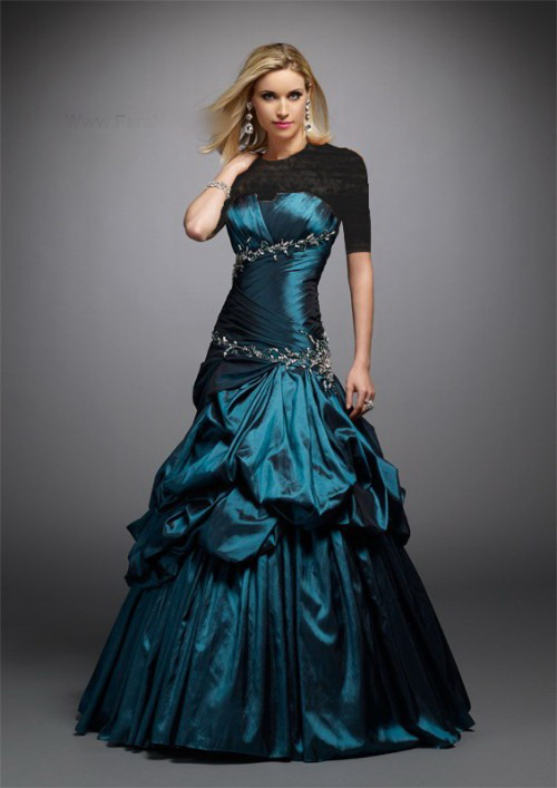 مدل جدید لباس شب تابستان 2012