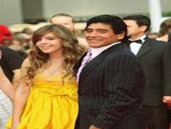 مادارونا و دخترش