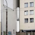 باریک ترین خانه دنیا در لهستان+تصاویر