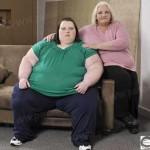 تلاش چاق ترین دختر بریتانیا برای کاهش وزن+عکس