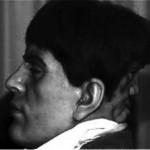 مردی عجیب با یک صورت در پشت سرش+عکس