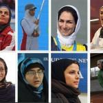 تصاویری از بانوان المپیکی ایران