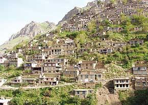 روستای اورامان تخت کردستان