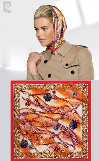 مدل روسری 2012