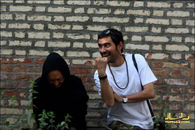 نیکی کریمی و شهاب حسینی