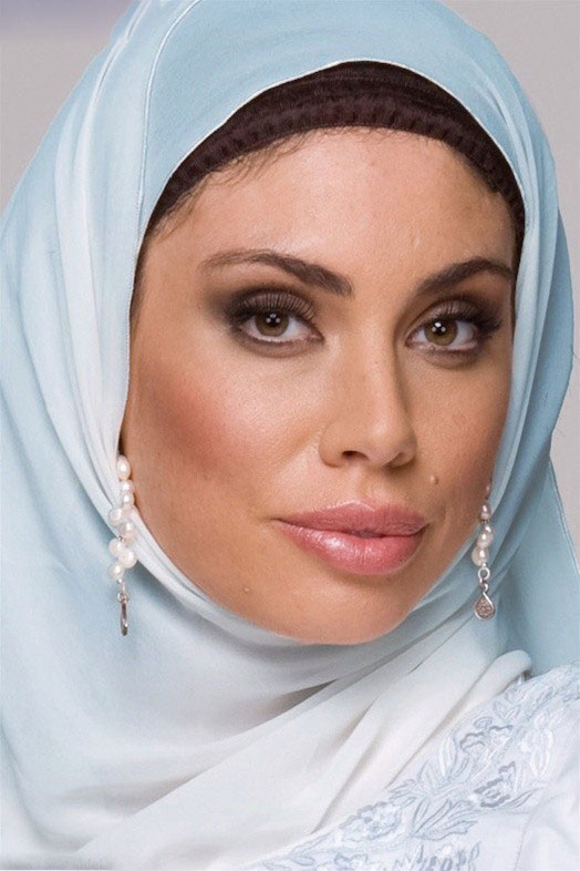 بستن روسری چهار گوش لبنانی مدل بستن شال و روسری زنان محجبه