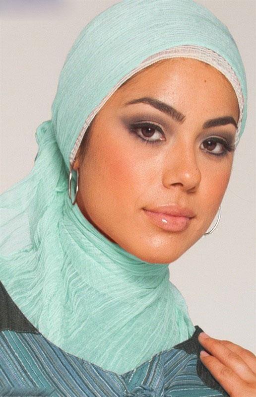مدل بستن روسری و شال