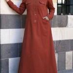 لباس بلند و پوشیده مدل اسلامی