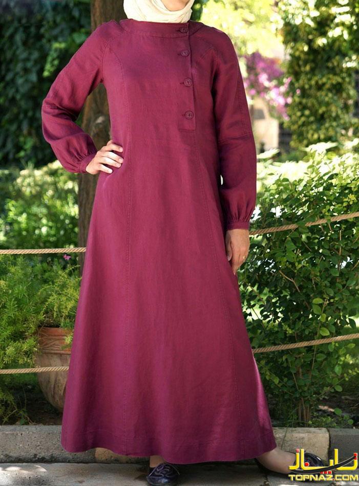 مدل لباس بلند پوشیده اسلامی