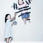 عکس هایی فوتوشاپی زیبا از دو خواهر شیطون