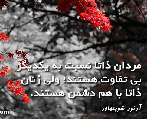 متن و جملات در مورد زن + عکس نوشته سخنان بزرگان در مورد زن