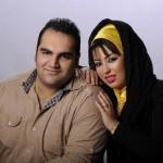 عکسی از بهداد سلیمی و همسرش